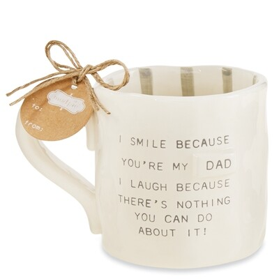MP Funny Dad Mug - Smile