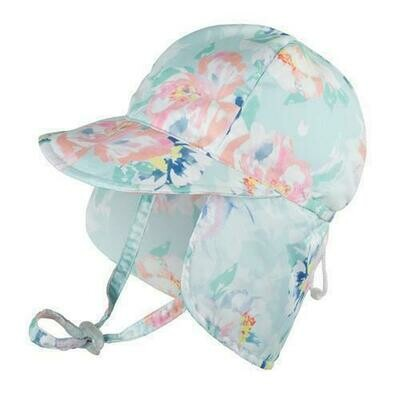 Millymook Mint Peony Baby Hat