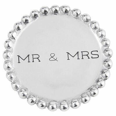 MP Mr & Mrs Beaded Coasters
