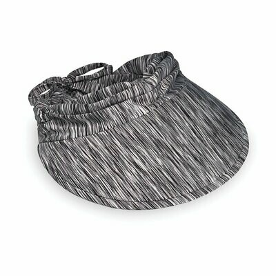 Wallaroo Aqua Visor - Black Combo