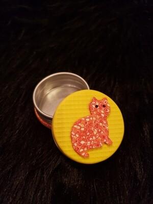 Small Tin- Orange Tabby