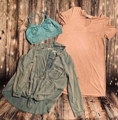 Sinuous Rose shirt dress