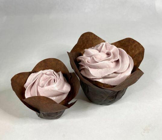 Huckleberry Hummingbird Cupcake