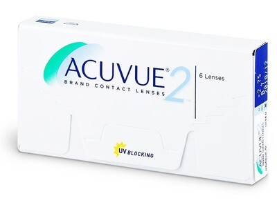 ACUVUE® 2® 6 LENS BOX