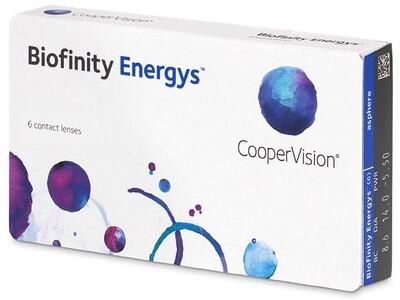 Biofinity® Energys™ 6 LENS BOX