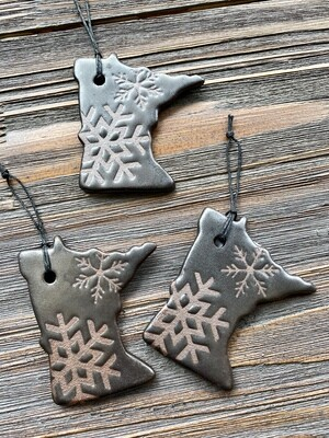 Made Local Clay Ornament Assorted
