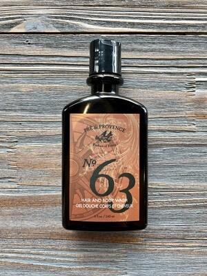 No. 63 Body Wash Shower Gel for Men