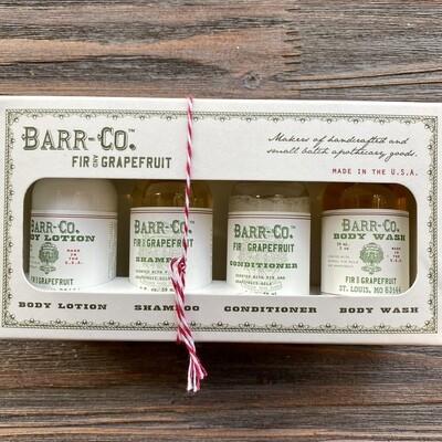 Barr Co. Fir & Grapefruit Bath & Body Gift Set