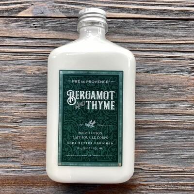 Bergamot And Thyme Body Lotion for Men