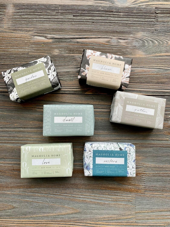 Magnolia Home Exfoliating Bar Soap