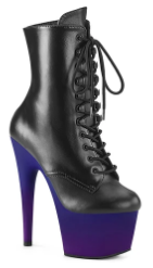 ADORE-1020 OMBRE ANKLE BOOT PURPLE 8