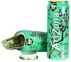 ARIZONE GREEN TEA SAFE CAN