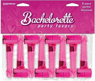 BACHELORETTE 8 PIECE PECKER BLOWOUTS
