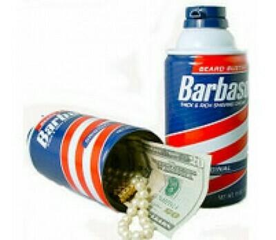 BARBASOL SHAVING CREAM SAFE
