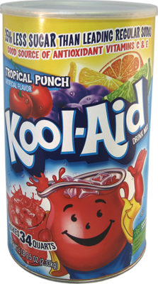 KOOL AID SAFE CAN
