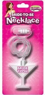 BRIDE TO BE LIGHT UP NECKLACE