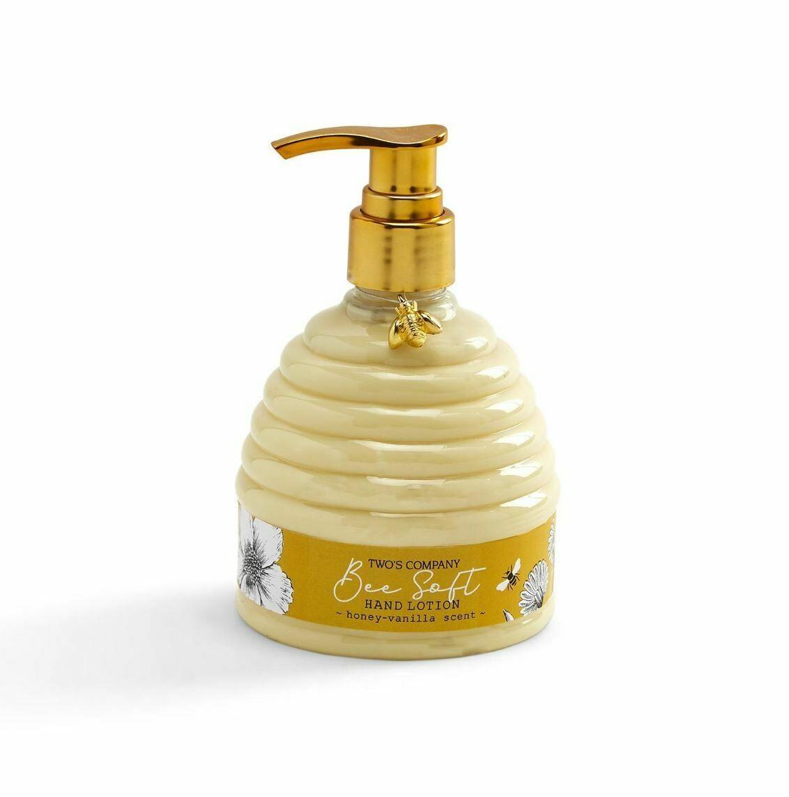 Bee Soft Honey-Vanilla Scented Hand Lotion