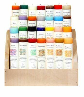 Reiki Herbal Pillar Candles