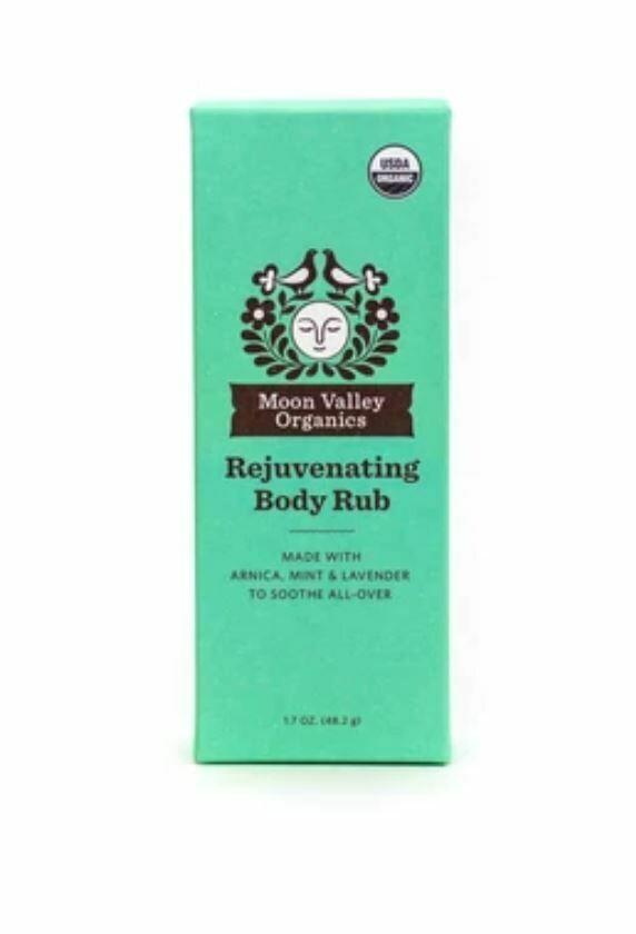 Moon Valley Organics Rejuvenating Body Rub 1.7 oz
