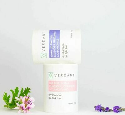 Organic Dry Shampoo For Light & Dark Hair