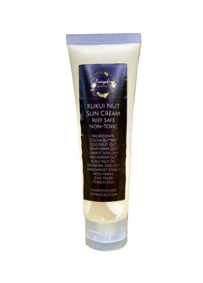 Kukui Nut Sunscreen Non Toxic 1.7 oz
