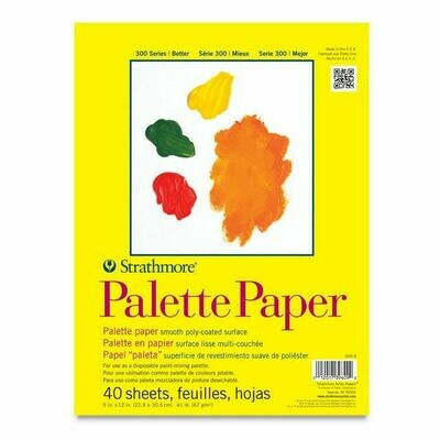 Strathmore Disposable Palette 9x12 40 Sheets