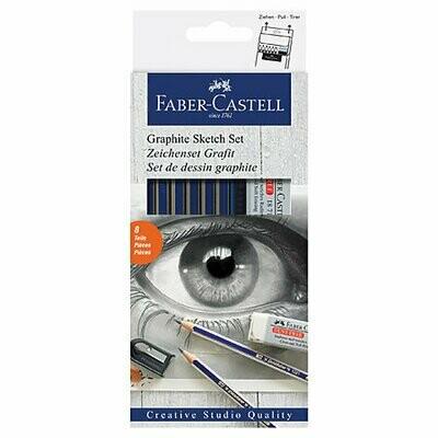 Faber-Castell Goldfaber Graphite Sketch Kit
