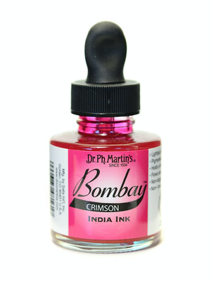 BOMBAY INK CRIMSON 1OZ