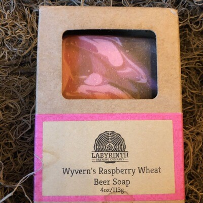 Wyvern's Raspberry Beer Soap