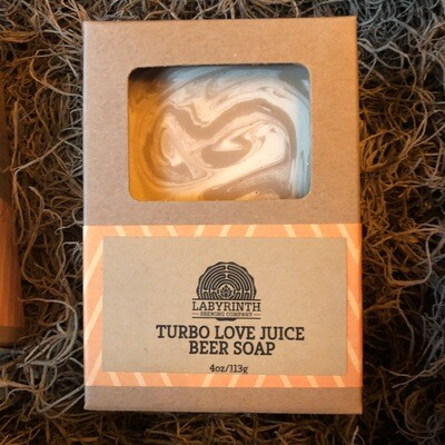 Turbo Love Juice Beer Soap