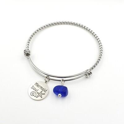 Twisted Bangle Bracelet with