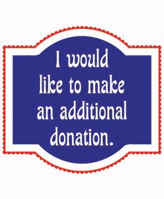 Additional Donation