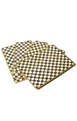 CC cork back placemats set 4