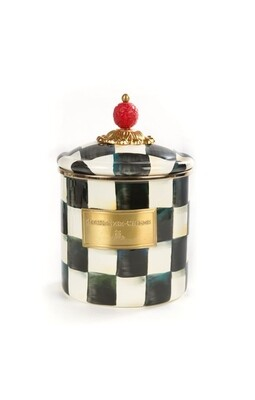 CC enamel canister small