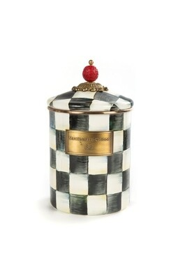 CC enamel canister medium