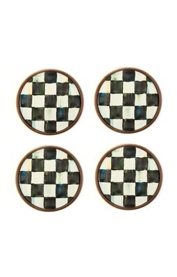 CC enamel coasters set of 4