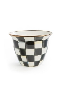 CC Enamel Flower Pot large