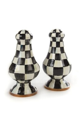 CC enamel large salt and pepper shaker