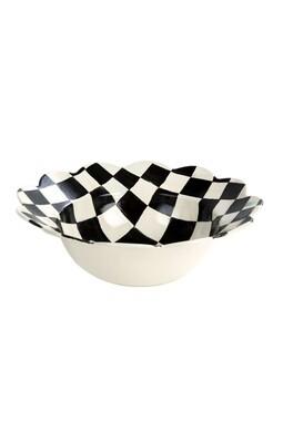 CC enamel petal serving platter