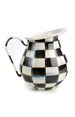 CC enamel pitcher