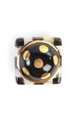 CC petit four square knob