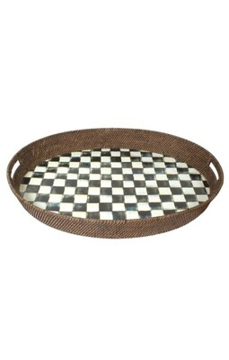 CC rattan party tray