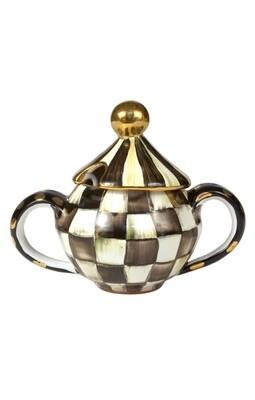 CC sugar bowl with lid