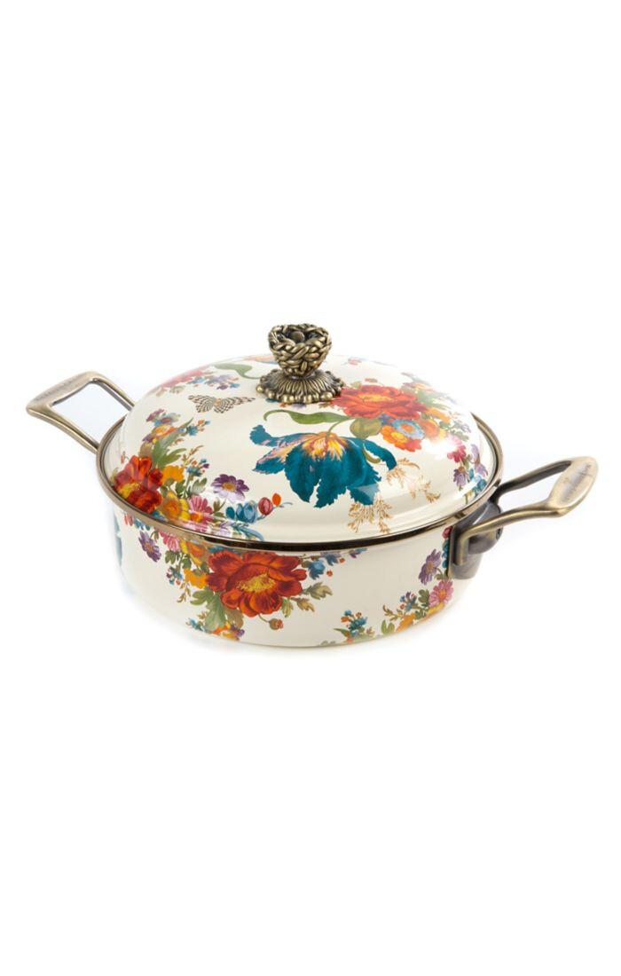 Flower market 3 qt casserole