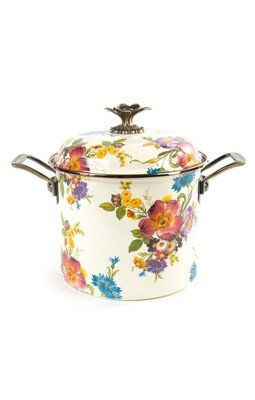 Flower market 7 qt stockpot