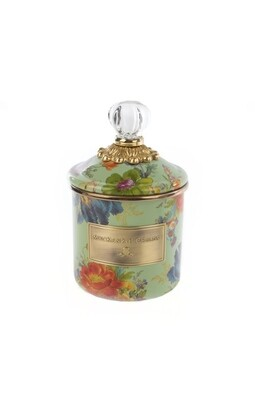 Flower market demi canister green