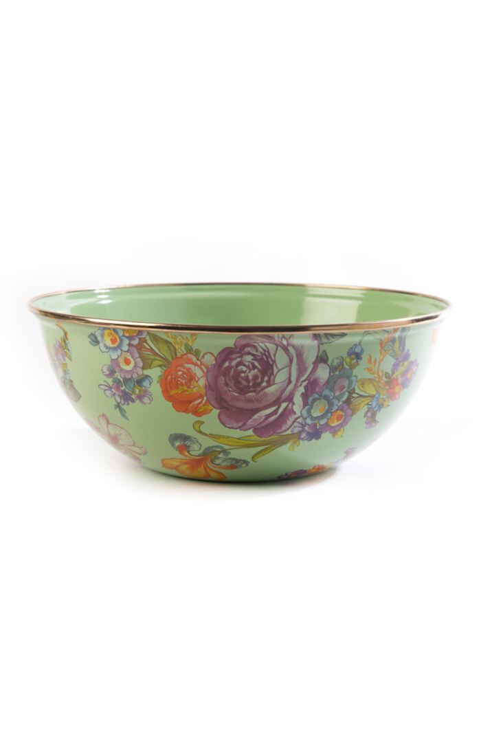 Flower market everyday bowl medium green