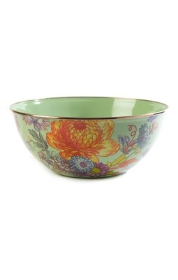 Flower market everyday bowl large green