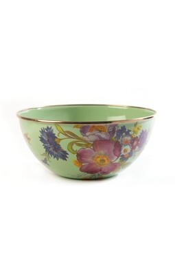 Flower market everyday bowl small green