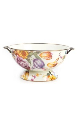 Flower market everything bowl white